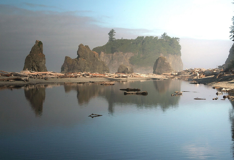 Ruby beach morning