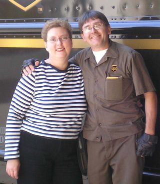 KJ-RJ in UPS uniform
